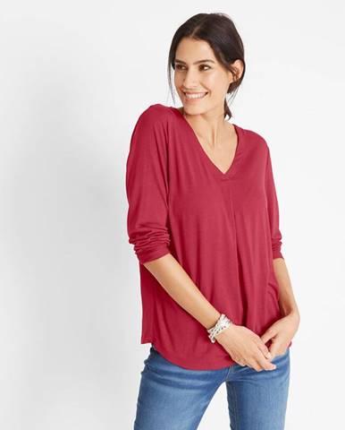 Udržateľné LENZING™ ECOVERO™ tričko s dlhými rukávmi