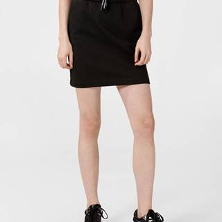 Terry Sukně Calvin Klein Čierna