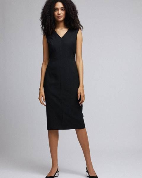Dorothy Perkins Čierne púzdrové šaty Dorothy Perkins