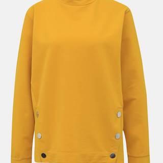 Žltá mikina M&Co