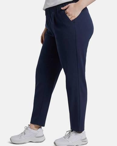 Tmavomodré dámske nohavice Tom Tailor My True Me