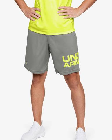 Kraťasy Under Armour Tech Wordmark Shorts Šedá