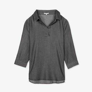 Košeľa z lyocelu s 3/4 rukávom